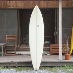6'10 Semi Gun by Tudor Surfboard / Shaped by Tom Ebely