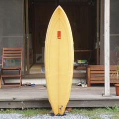 5'10 Single fin by Unity Surfboard