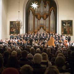 Aufführung des Weihnachtsoratoriums von Bach.