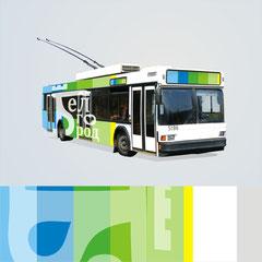 логотип белгород брендинг тралейбус