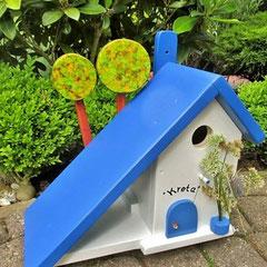Houten Nestkastje voor Pindakaas pot, Nestkastje, thema, Grieks stijl  Tekst, Vogelhuisje bouwen, vogelhuisje pindakaas pot, huisje tekst_4