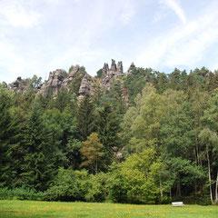 Nonnenfelsen Kurort Jonsdorf