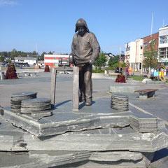 statue dans le centre d'Alta