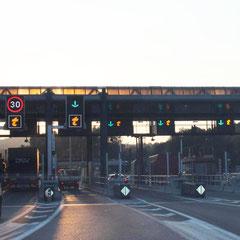Autobahnmaut in Frankreich