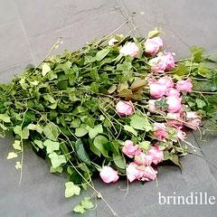 Bouquet deuil de roses         50 euros
