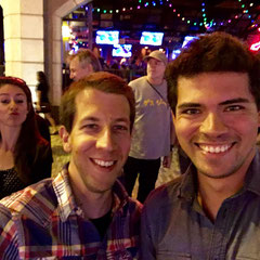 Lukas und Manuel, Nina im Hintergrund :)