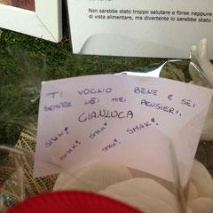 Novembre 2012, un pensiero da Gianluca
