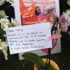 27 Aprile 2013 - Gianluca: per Mati sempre presente, gli dedichiamo per questo una sezione apposita!