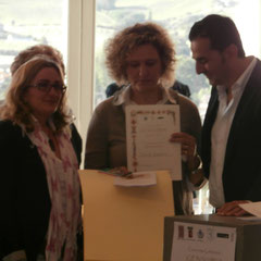 Gens Vibia 2013 - Premio Speciale Matilde Margaritelli a Daniela Gregorini