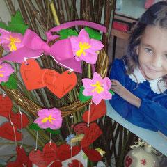 13 Settembre 2012: Primo giorno di scuola della classe 5B, il saluto a Matilde.