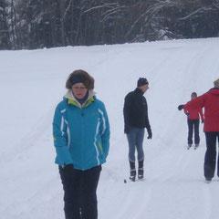 Langlaufkurs, Ski-Technik üben