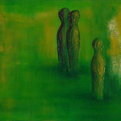 THE GREEN WORLD   40x120x2 / PRAXISRAUM HOCHDORF