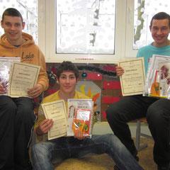 Laureatai: Gediminas, Žygimantas, Arimantas