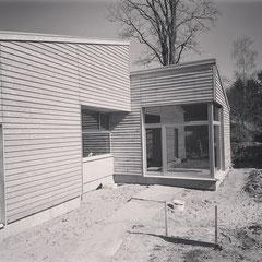 Dierkshausen, Einfamilienhaus, Neubau in Holzrahmenbauweise, Fertigstellung 2021