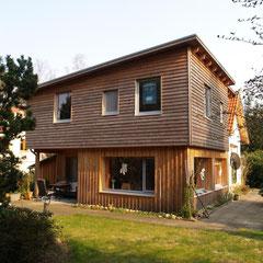 Jesteburg, Einfamilienhaus, Aufstockung in Holzrahmenbauweise, 2004