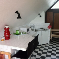 Ferienwohnug 3.4 - Küche