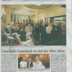 LiMeLigHT Eröffnung zusammen mit dem 20er Jahre Event, 08.10.2009, Köln