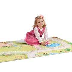 Tapis de jeu pour maison de poupée