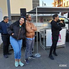 Stand de voluntariado en Plaza de La Concepción - ACANAE