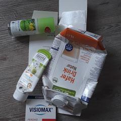 Unnötige Drogerie-Verpackungen der letzten Tage...