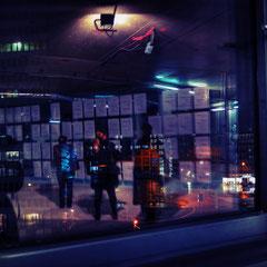 · nachrichtenwand · spiegelungen I · düsseldorf · yak © 2014 RK