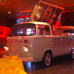 VW T2 Bar Bus Bulli Events Cocktails Party Bus
