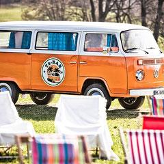 VW T2 Bar Bus Bulli Events Hochzeit Sektempfang Schliersee Tegernsee Chiemsee München