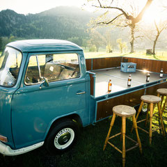 VW T2 Pritsche Bar Drinks Cocktails Bulli Events Food Truck München