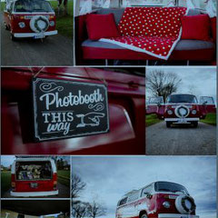 VW T2 Bar Fotobus Photo Booth Bilder Fotos Vintage Shabby Chic