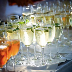 Sektempfang Hochzeit Schliersee Catering Bulli Events