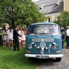 Sektempfang Hochzeit Schliersee Bulli Bar T2 Bar