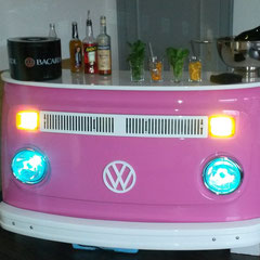 VW Bar Theken Bus Tresen Vintage Theken Retro Bar Shabby Chic