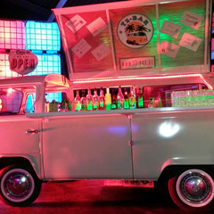 Bulli Events VW T2 Bar Bus Cocktailservice mobile Bar & Events Foodtruck München