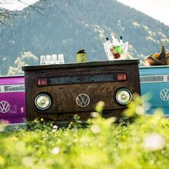 VW Bar Theken Bus Tresen Vintage Theken Retro Bar Shabby Chic