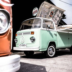 VW T2 Bar Drinks Cocktails Bulli Events Food Truck München