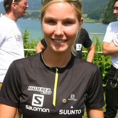 Sandra Koblmüller - amtierende Österreichische Staatsmeisterin im Crosstriathlon.