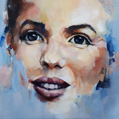 The MM girl 100x80 cm