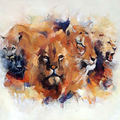 The largest cats 100x130 cm