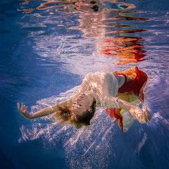 dynamische Unterwasserfotos