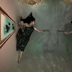 Unterwasser Kunst  Unterwasserfotografie