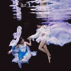 Unterwasserfotografie Modefotografie ST.ERN Photo Weimar