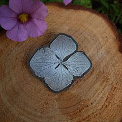 "anhänger ""Hortensienblüte"", 925er Silber"
