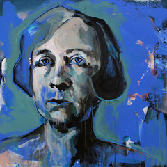 Gabriele Münther, 80/80 cm, 2019