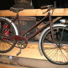 Vélo Mamie à rafraichir