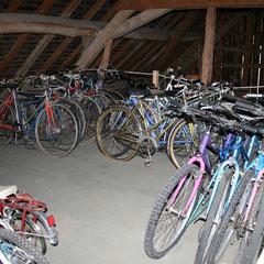 Stock de vélos pour pièces ou remise en état