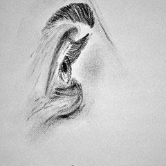 Zuversicht (Bleistiftzeichnung)