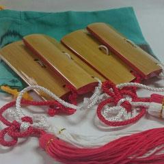 3.四つ竹 練習用 1,620円
