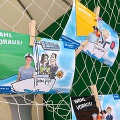 """Aktion zur Bundestagswahl 2018 von """"Smartsteuer"""" im Auftrag von """"Waldlichtung Hannover"""""""