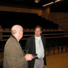 Luc Herzé et George Foulon