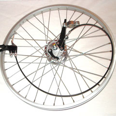 "24"" inch Replacement Front wheel w/ Drum - Hub brake system [complete]"
